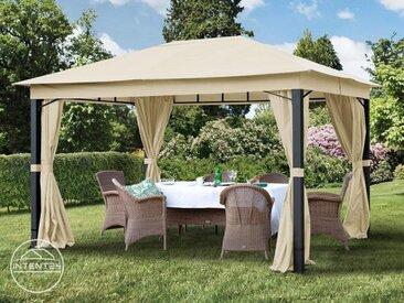 Tonnelle de jardin Sunset Premium, champagne, 3x4m