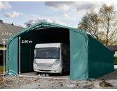 Tente-garage de stockage 6x12m, PVC 550, porte 4,1x2,9m