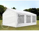 4x6 m tente de réception, PE 180 g/m², H. 2m, blanc