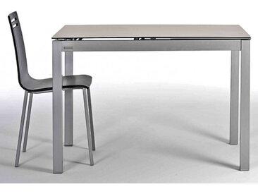 TABLE CERAMIQUE AVEC ALLONGE CELESTE HT75 CM