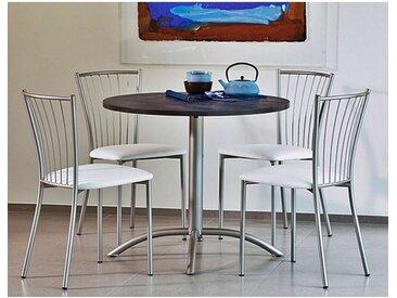 TABLE RONDE AVEC PIED CENTRAL LASER HT 75