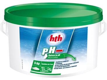 Micro-billes correctrices pH moins pour piscine