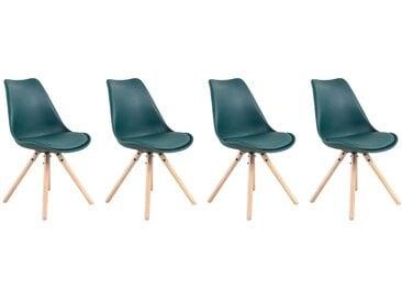 Lot de 4 chaises scandinaves Anita