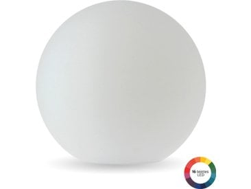 Boule lumineuse LED diam 50cm multicolore Adhara