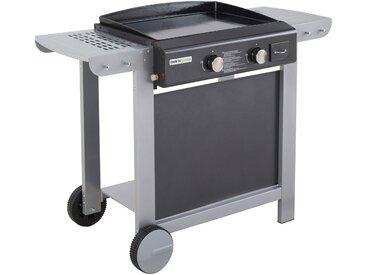 Cook'in Garden - Plancha au gaz sur chariot Finesta 2