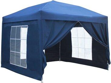 Tente de réception pliante Mistral 3 × 3m + panneaux