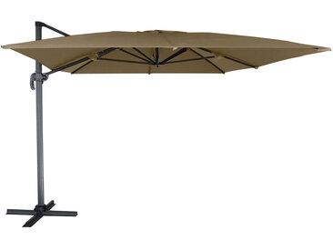 Parasol déporté rectangulaire Molokai 3x4m