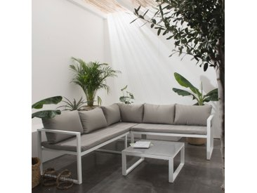 Salon de jardin modulable Ibiza 4 places
