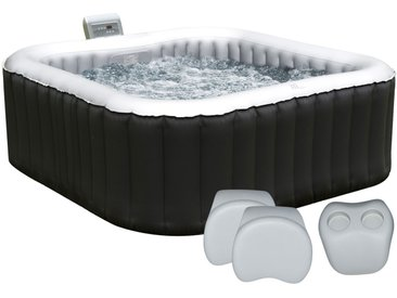 Pack spa gonflable carré 158cm Alpine 4 places