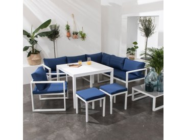 Salon de jardin Ibiza 7 places