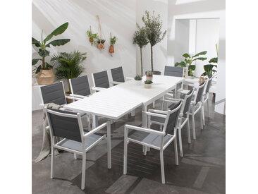 Salon de jardin Venezia extensible 10 places