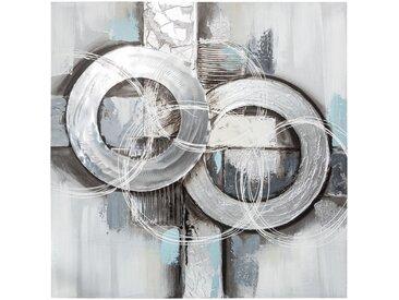 Toile peinte Abstrait 78x78