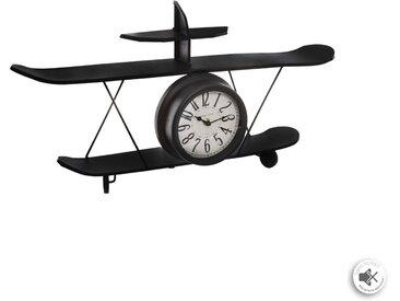 Pendule Avion en métal 64x33