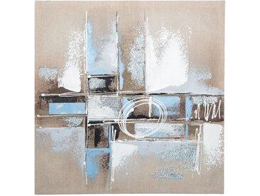 Toile peinte Abstrait 48x48
