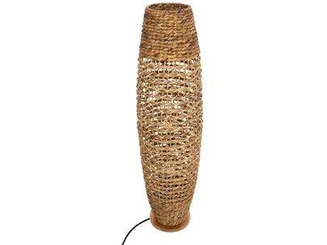 """Lampadaire """"Sand"""" en métal, bois & papier"""