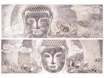 Toile peinte Bouddha 60x180