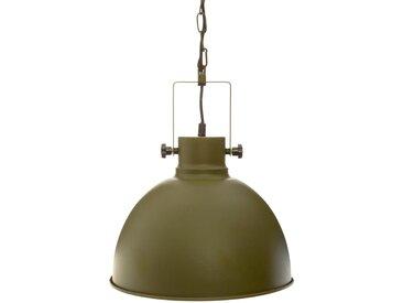 "Suspension ""Basalt"" ronde Kaki ""Basalt"" en métal D30"
