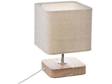 """Lampe à poser """"Toxey"""" en bois H21"""