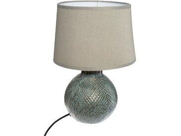 """Lampe """"Joas"""" boule en céramique H28,5"""
