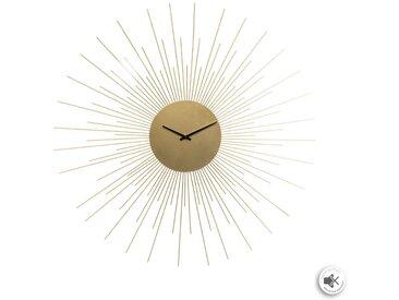 Pendule Soleil Or en métal D67