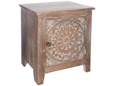 "Table de chevet ""Shirel""1 porte"