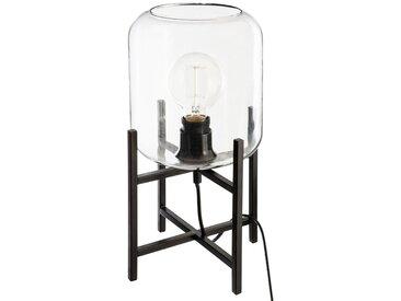 Lampe en métal & verre H35