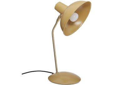 """Lampe à poser Jaune """"Celia"""" en métal H38"""