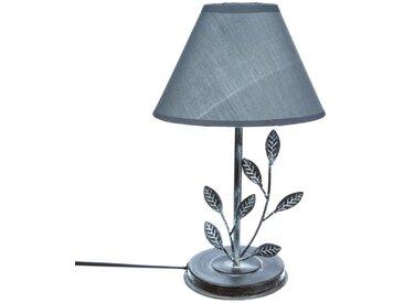 """Lampe """"Flores"""" feuilles en métal H35"""