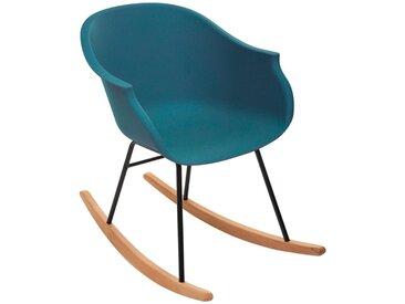 Rocking chair Navy en plastique