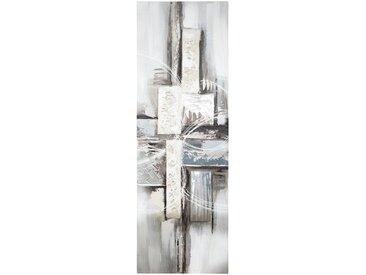 Toile peinte Abstrait 30x90