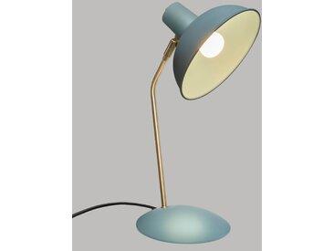 "Lampe à poser Verte ""Celia"" en métal H38"