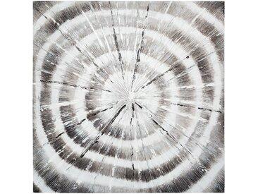 Toile peinte Spirales 78x78