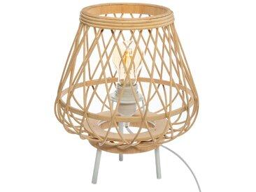 Lampe trépied en bambou H31