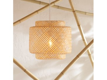 "Suspension Naturel ""Liby"" en bambou D40"