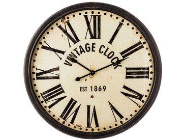 Pendule Vintage Marron en métal D113