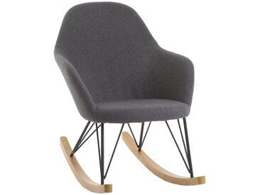 """Rocking chair Gris """"Ewan"""""""