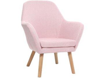 Fauteuil enfant design rose BABY MIRA