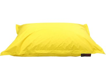 Pouf géant design jaune BIG MILIBAG