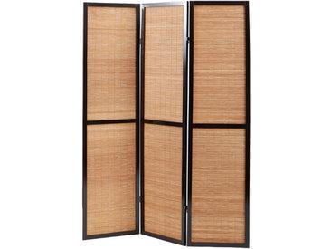 Paravent bambou et bois style asiatique Suwa