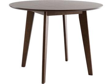 Table à manger design ronde D100 cm LEENA