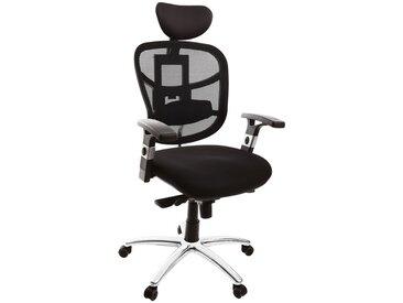 Fauteuil de bureau ergonomique avec appuie-tête noir UP TO YOU
