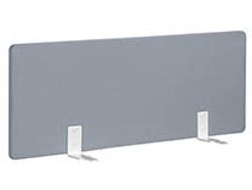 Panneaux écrans acoustiques L 120 cm gris fixation blanche pour bureaux Bench
