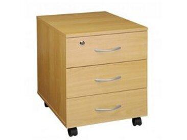 Caisson mobile 3 tiroirs bois hêtre