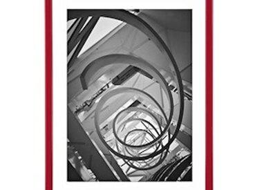 Cadre aluminium pour exposition - 60 x 80 cm rouge