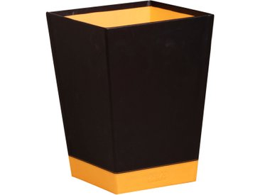 Rhodiarama Corbeille à papier 27x27x32 cm. - Noir