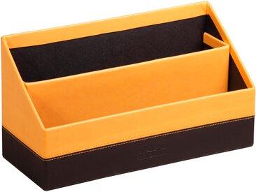 Rhodiarama Porte-courrier 25x10x14 cm. - Orange - Lot de 4