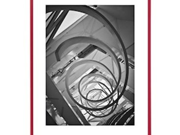 Cadre aluminium pour exposition 70x100cm rouge