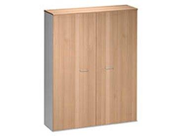 Armoire maxi largeur Jazz hêtre ambré portes battantes