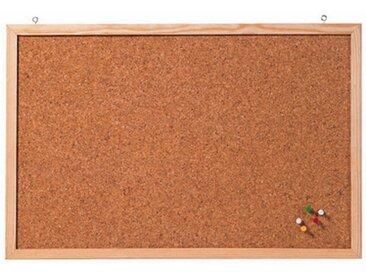 Tableau en liège 'Memoboard', 800 x 600 mm, marron - Lot de 2
