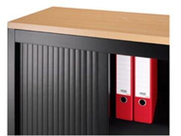 Top de finition bois pour armoire métal L 120 x P 43 cm